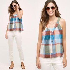 Anthropologie HD in Paris plaid top
